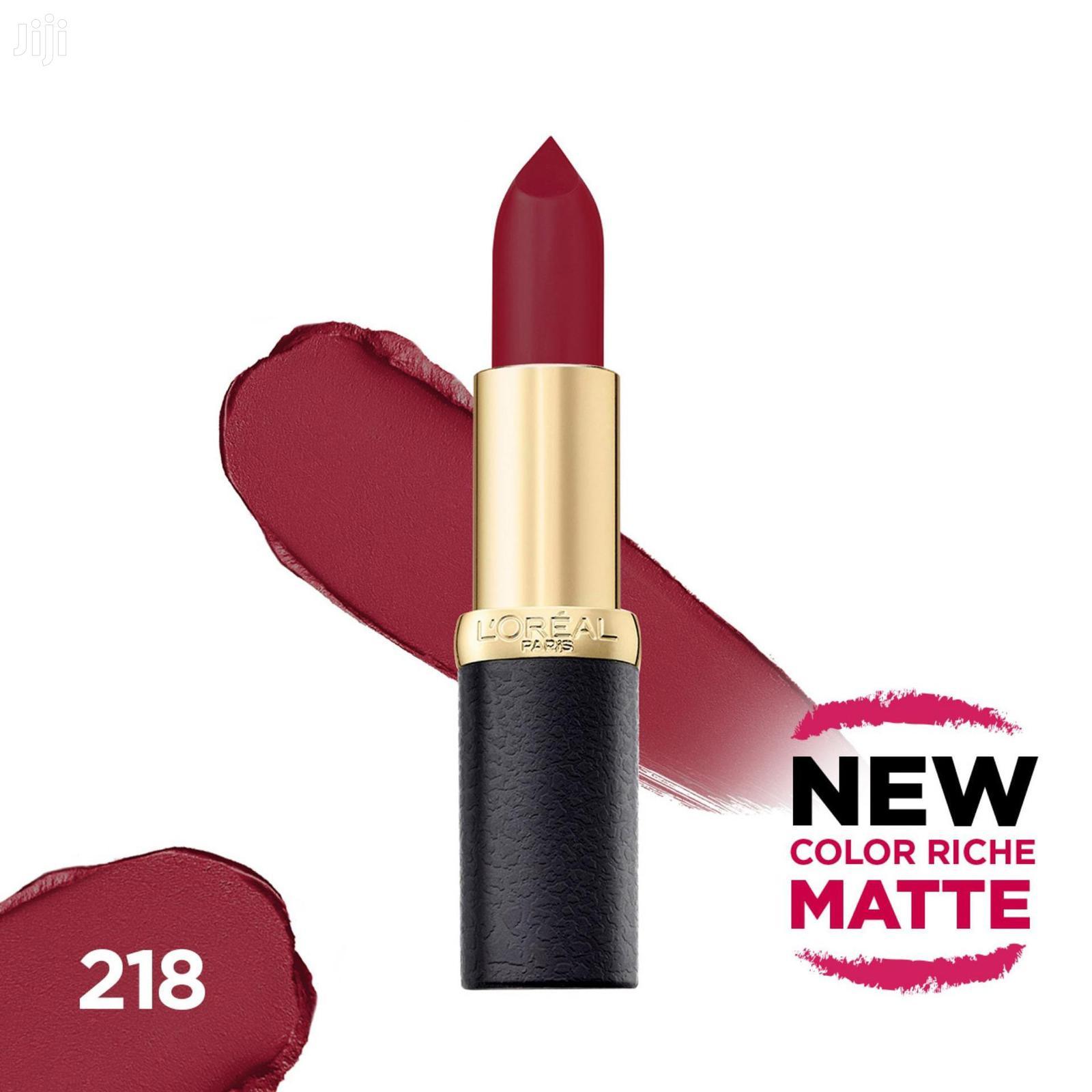 Archive: Loreal Original Matte Lipstick