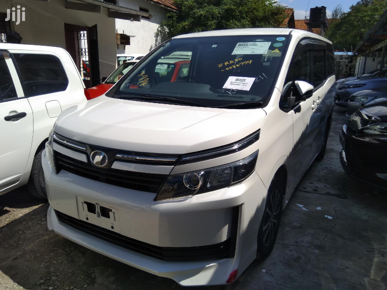 Toyota Voxy 2014 White   Cars for sale in Mvita, Mombasa, Kenya