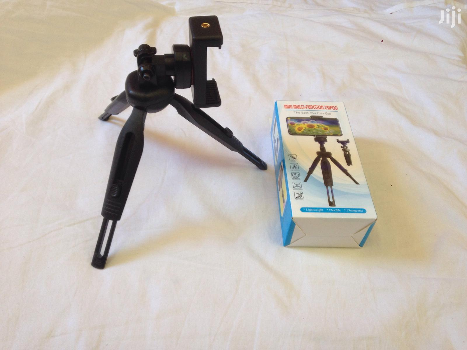 Tripod Stand With Multi Dimensional Head For Phone | Accessories for Mobile Phones & Tablets for sale in Mvita, Mombasa, Kenya