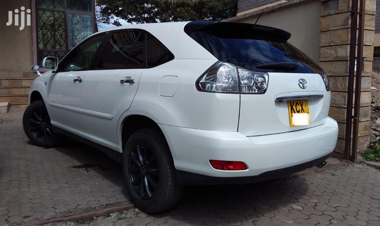 Toyota Harrier 2012 White