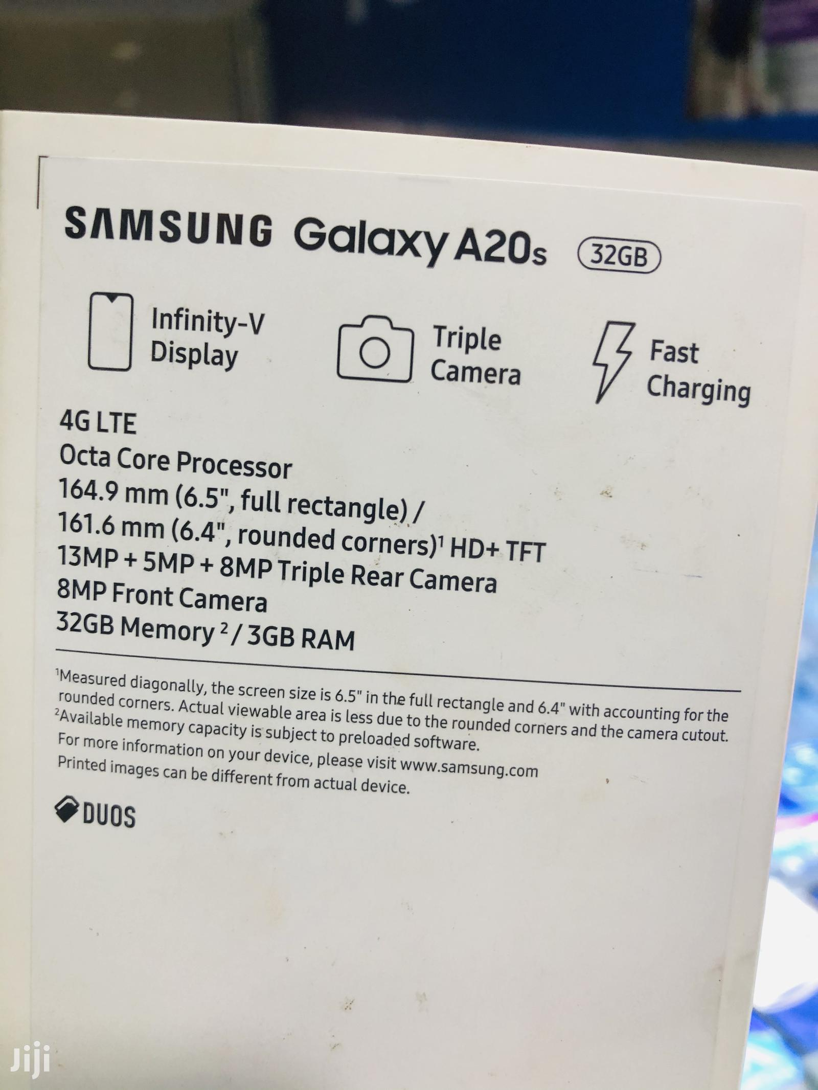 New Samsung Galaxy A20s 32 GB Black | Mobile Phones for sale in Nairobi Central, Nairobi, Kenya