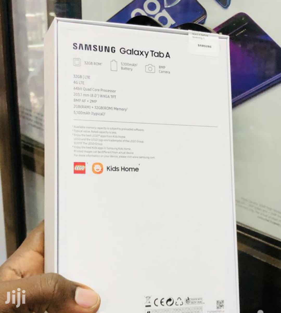 New Samsung Galaxy Tab A 8.0 32 GB Black | Tablets for sale in Nairobi Central, Nairobi, Kenya