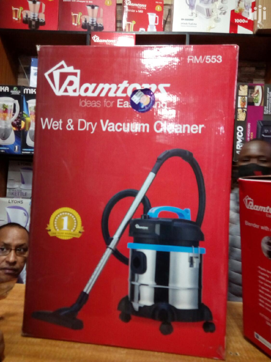 Ramtons Wet Dry Vacuum Cleaner