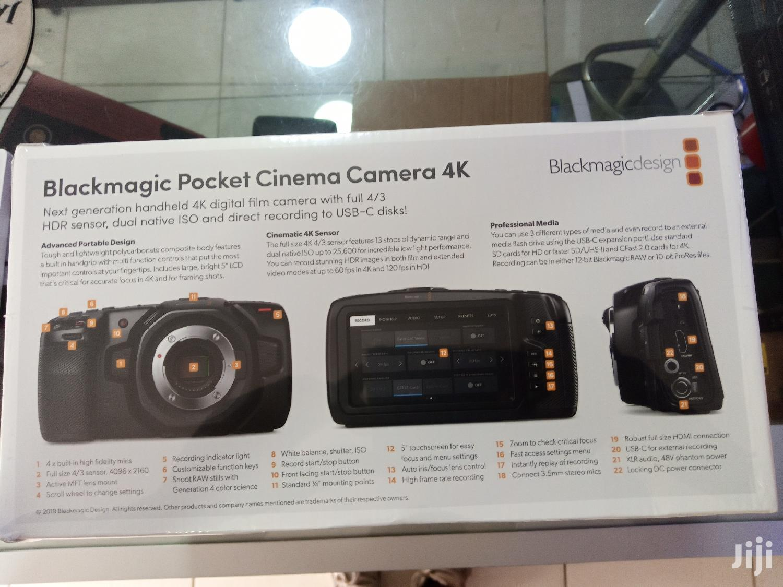 New Black Magic Pocket Camera With 4k Videos