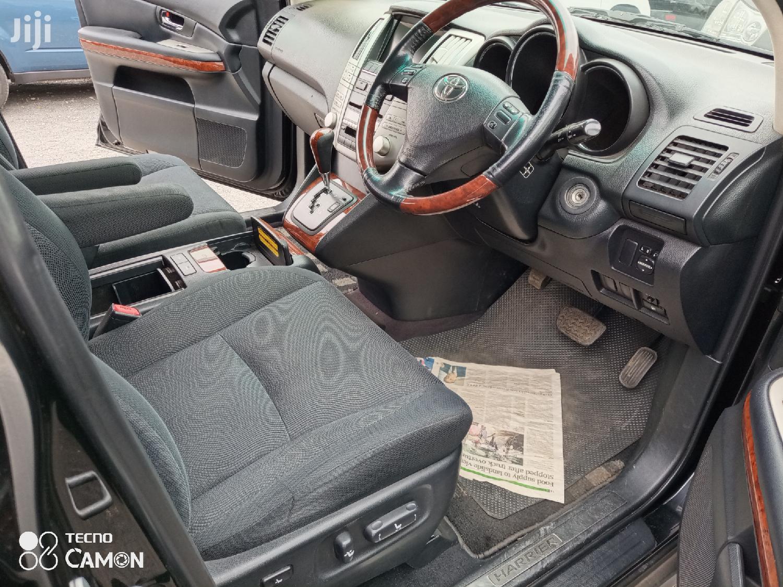 Archive: Toyota Harrier 2012 Black