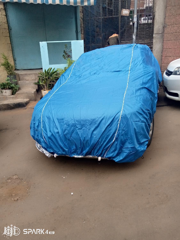 Blue Heavy Duty Car Cover