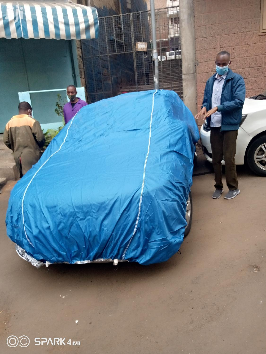 Blue Heavy Duty Car Cover   Vehicle Parts & Accessories for sale in Nairobi Central, Nairobi, Kenya