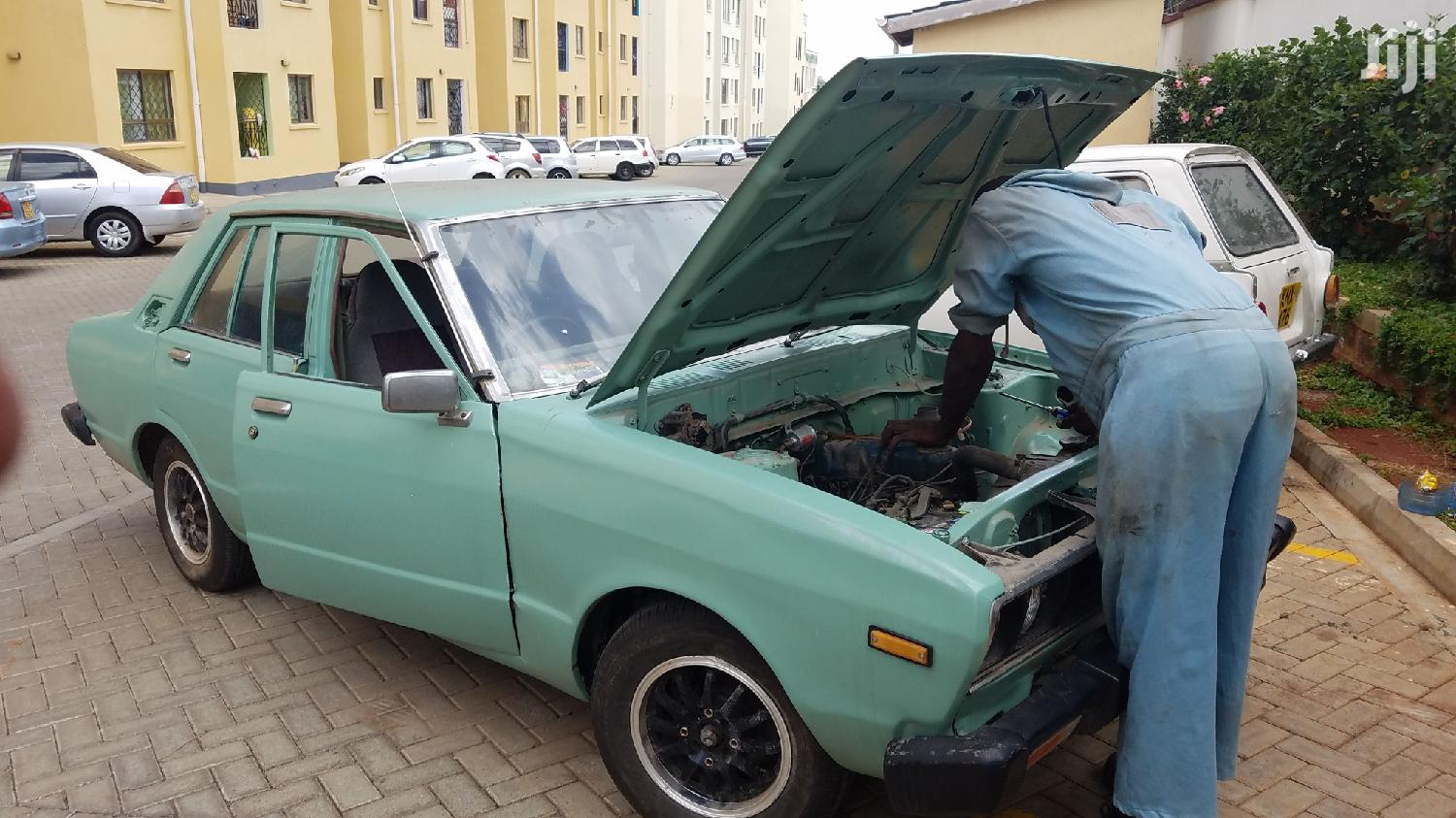 Archive: Datsun Violet 1978 Green