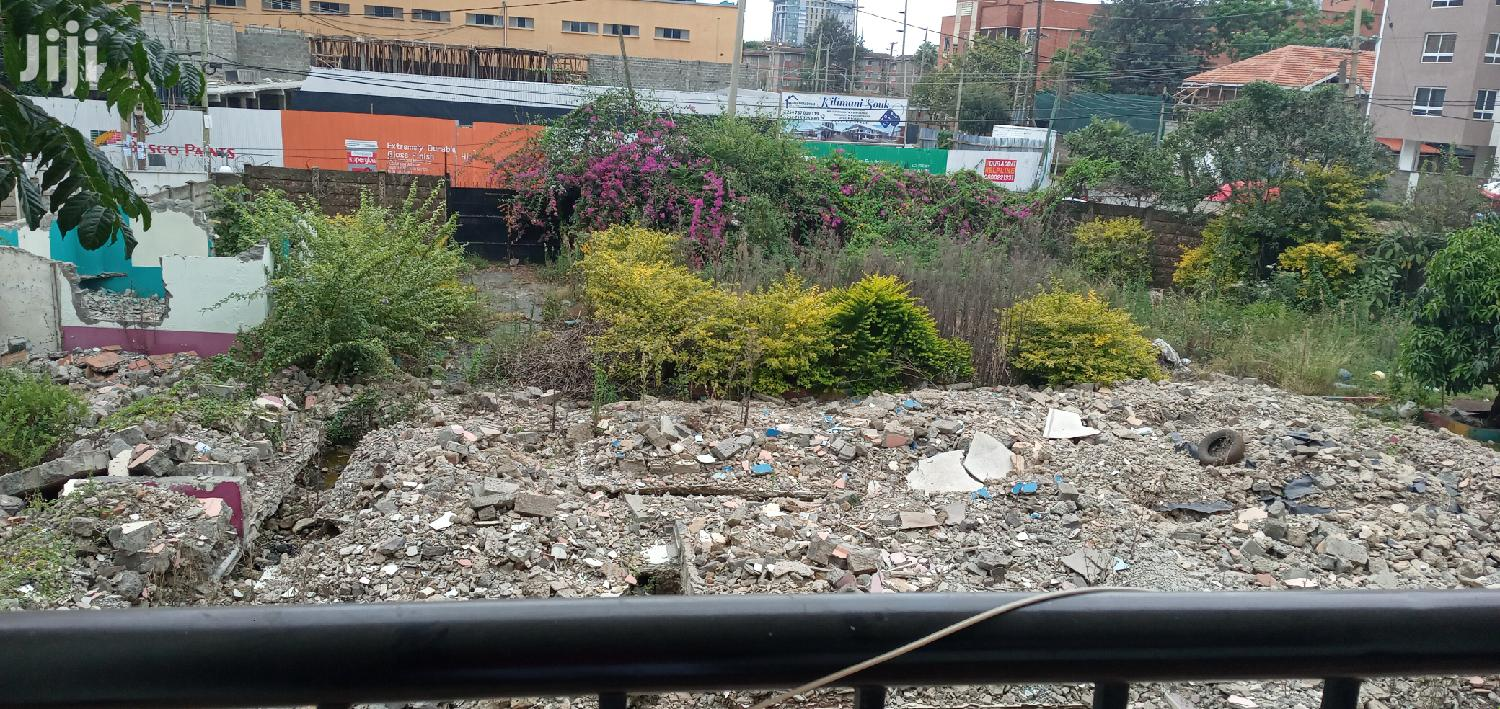 Archive: Quick Plot for Sale 0.2acres in Kilimani Close to Yaya Centre