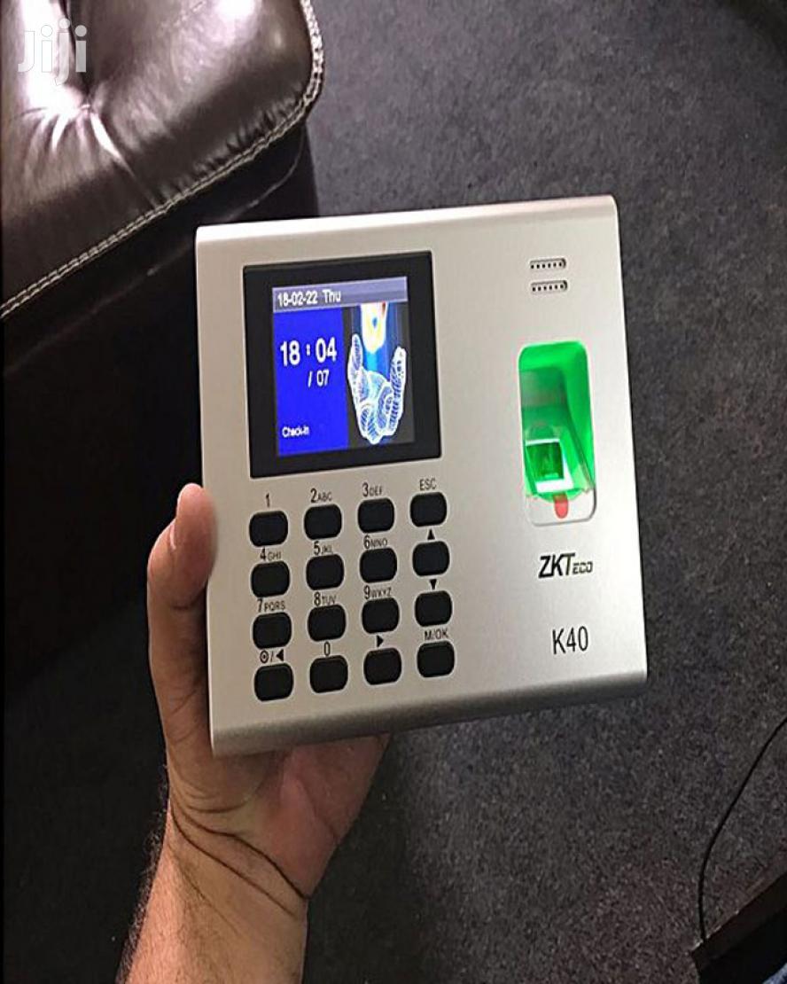 K40 ZK Teco Biometric Time Attendance System Wit