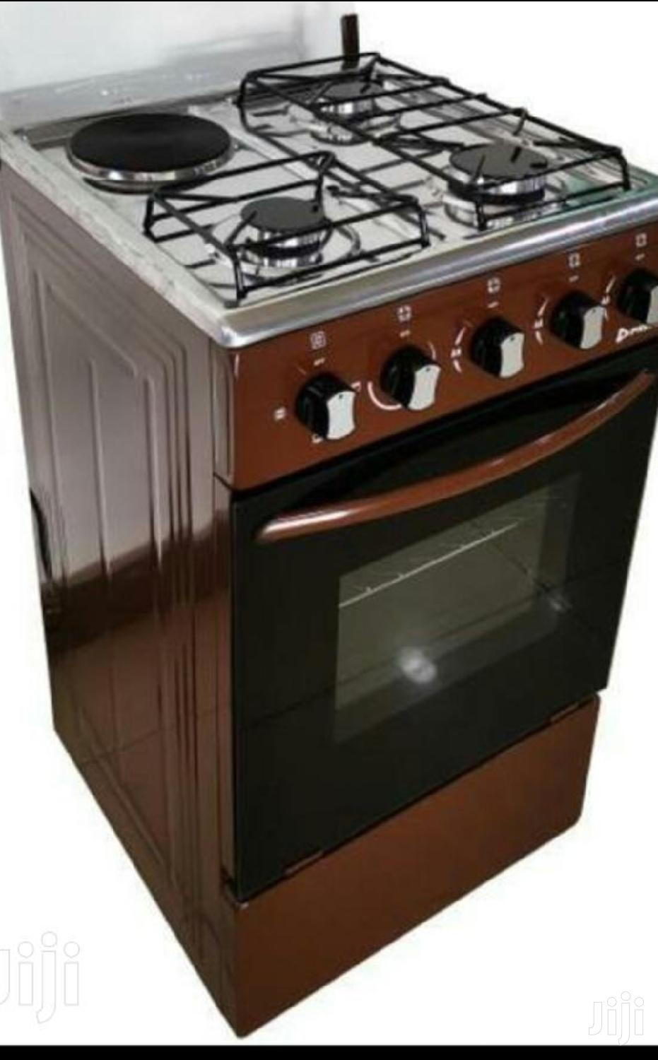 Archive: Stand Gas Cooker With Electric Cooker