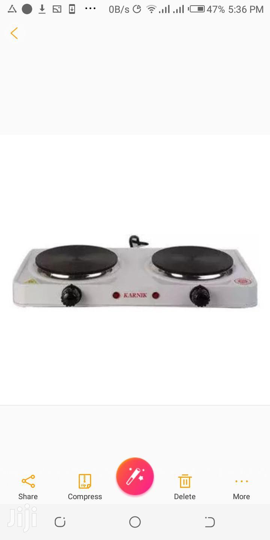 Karnik Modern Double Electric Hotplate -Cooker/Table Burner