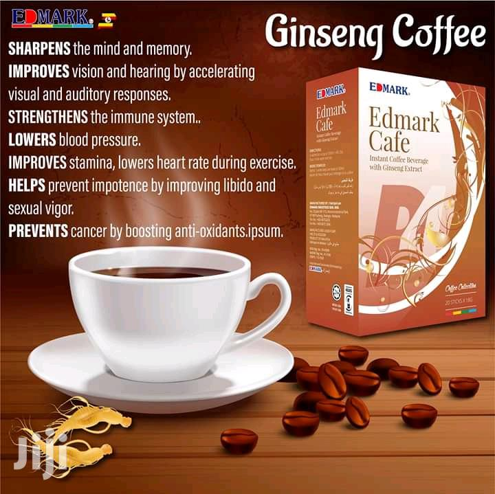 Edmark Ginseng Coffee ( Energy Booster, Improves Stamina)