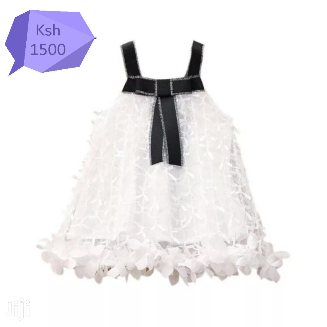 Archive: White And Black Girl Dress