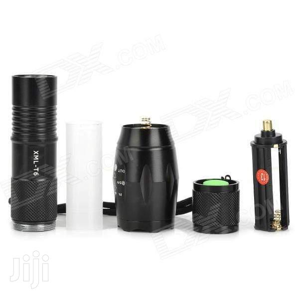 T6 Rechargeable Torch | Camping Gear for sale in Nairobi Central, Nairobi, Kenya