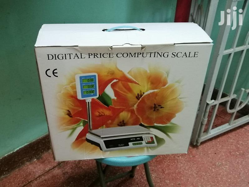 Digital ACS 30kg-40kg Electronic Price Computing Weighing Scale