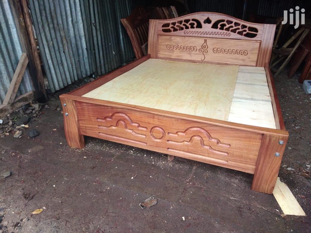 Mahogany Bed
