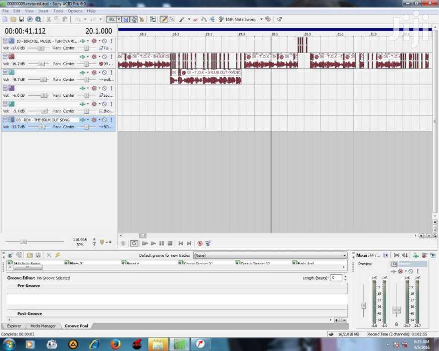 Sony Acid 6.0 Full Version.