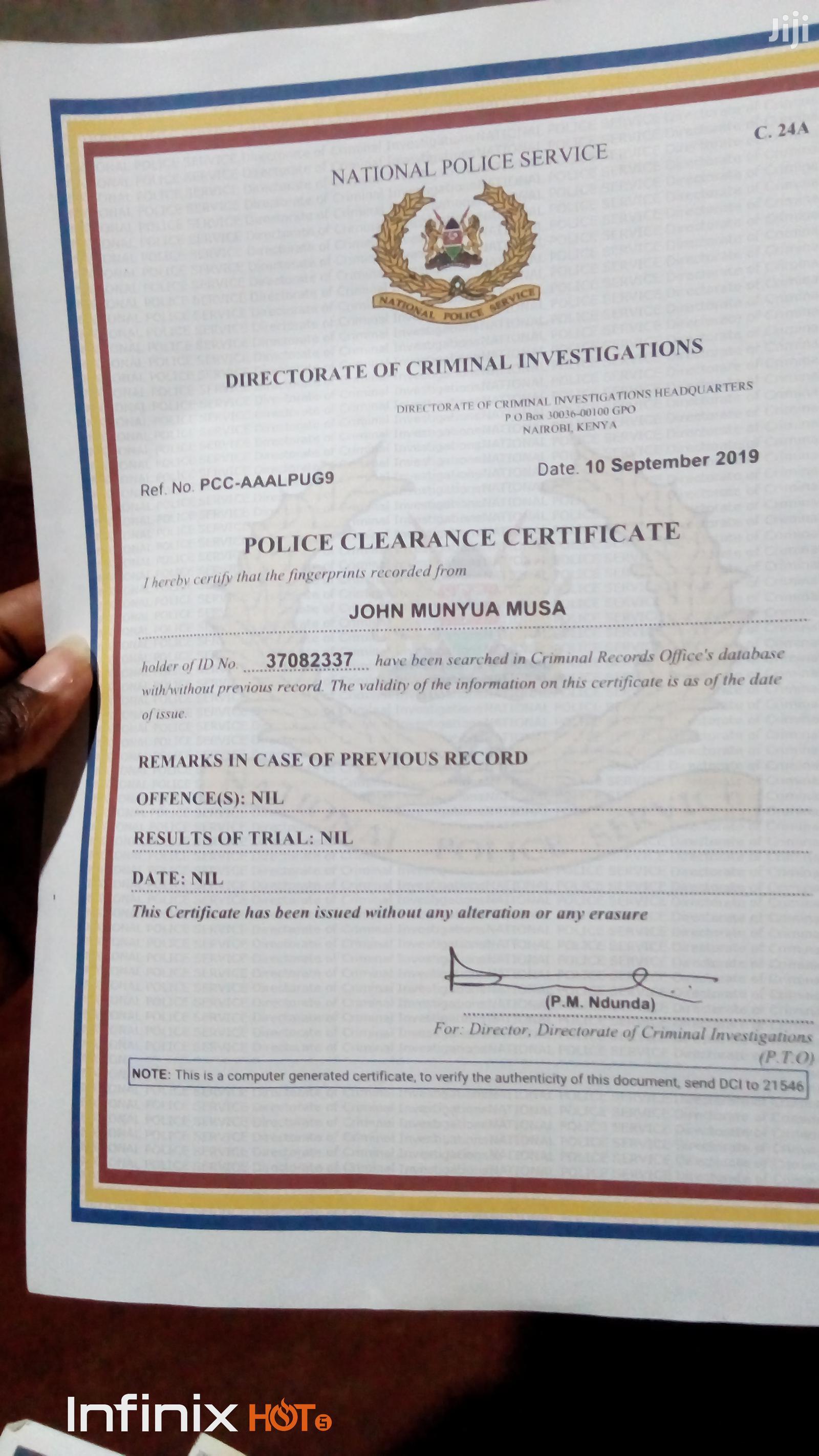 Driver's Job | Driver CVs for sale in Ruiru, Kiambu, Kenya