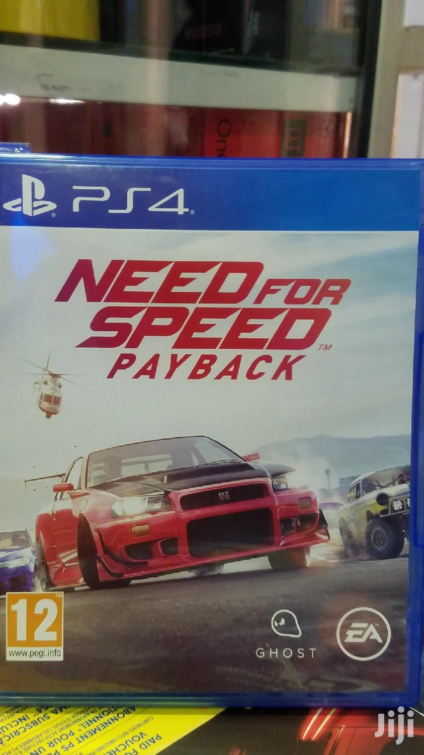 Archive: NFS Payback Ps4 Game