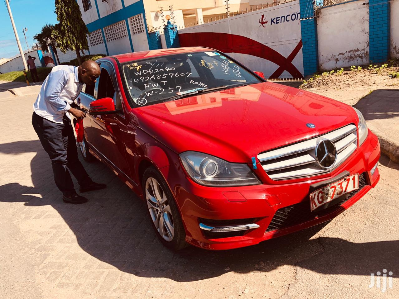 Archive: Mercedes-Benz C200 2013 Red