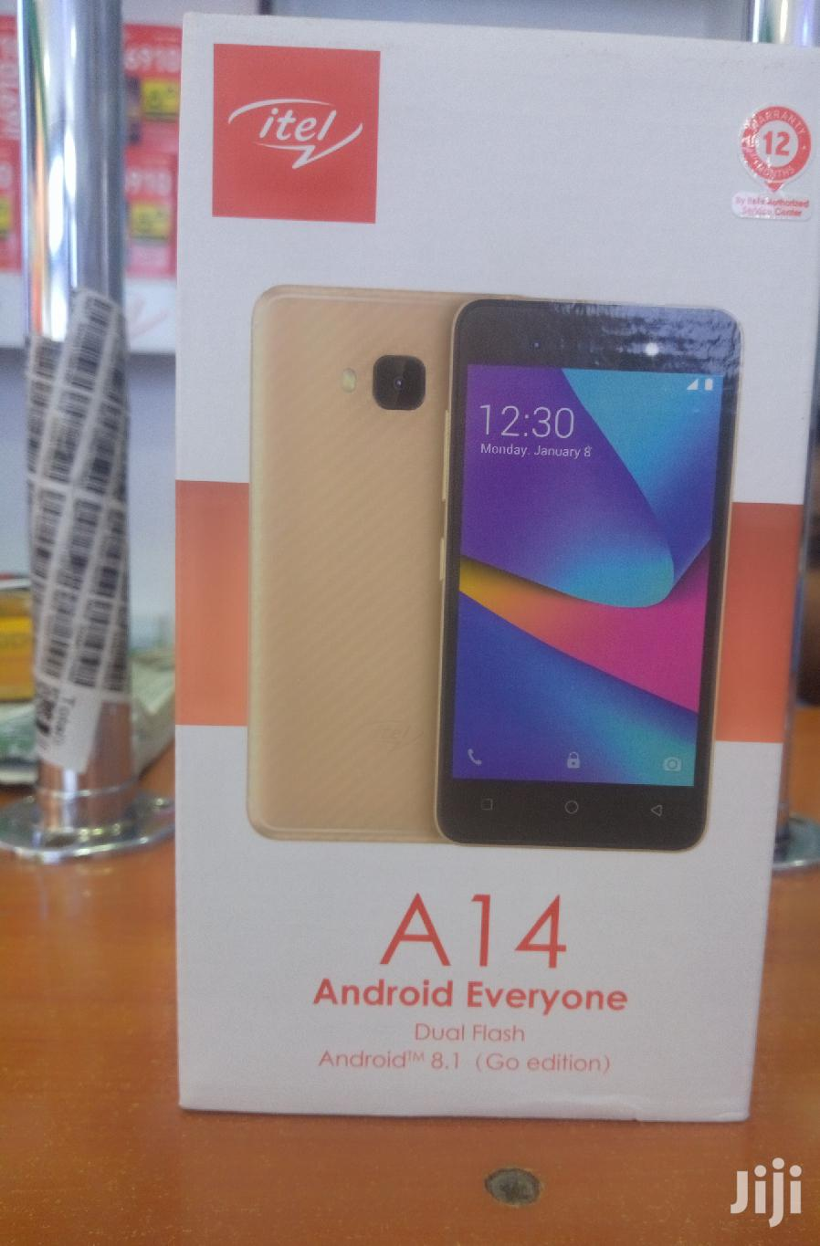 New Itel A14 8 GB Black | Mobile Phones for sale in Nairobi Central, Nairobi, Kenya