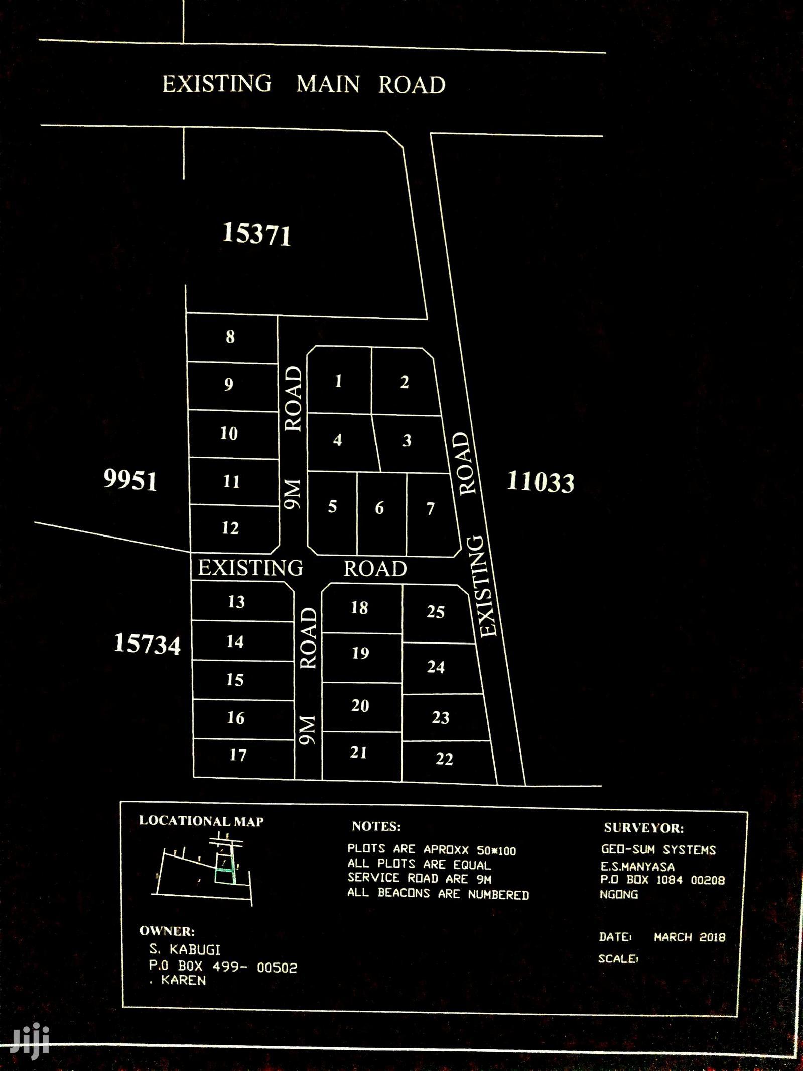 1/8ths Ngong,Saikeri Off Ngong-suswa Rd | Land & Plots For Sale for sale in Ngong, Kajiado, Kenya