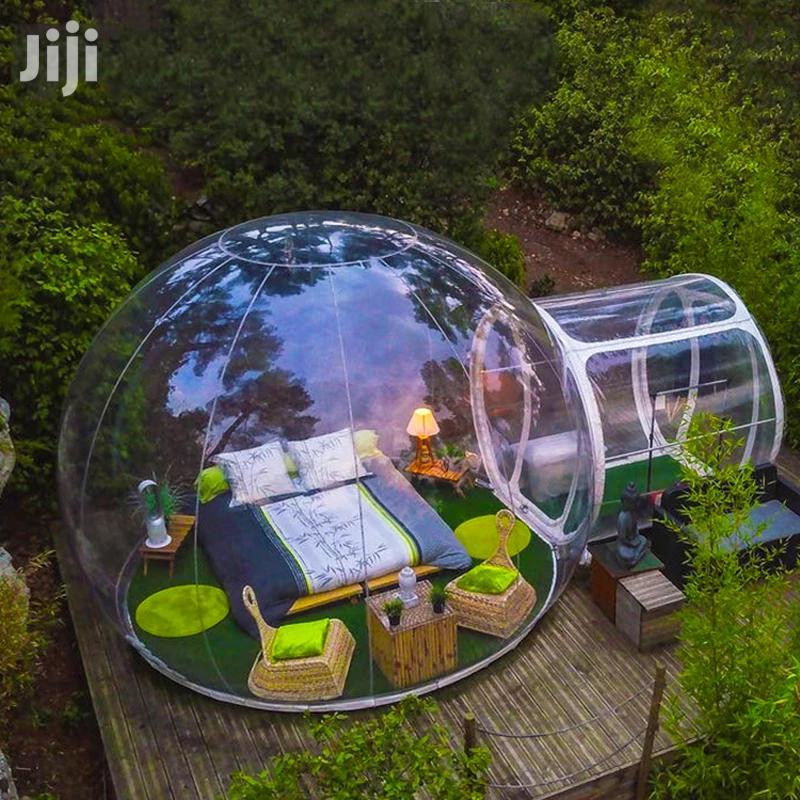 Outdoor Bubble Camping House. Outdoor Clear Bubble Camping House