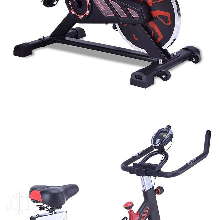 Stationary Exercise Spinning Bike Indoor Bicycle