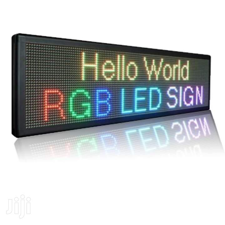 LED Scroll Panels | Manufacturing Services for sale in Nairobi Central, Nairobi, Kenya