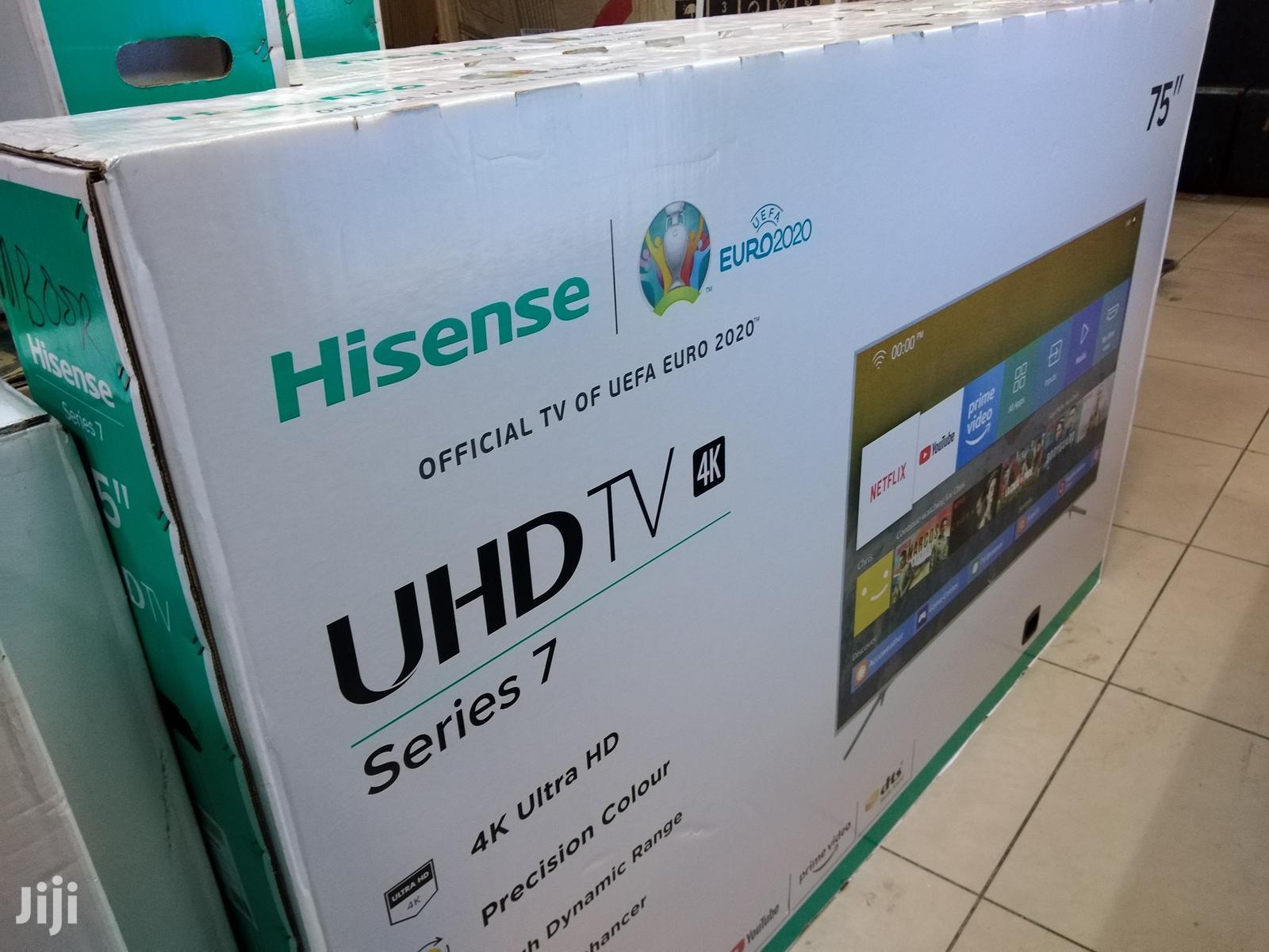 Archive: 75 Inches Hisense Smart UHD LED Tv