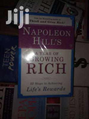Napoleon Hill's A Year Of Growing Rich:  Napoleon Hill | Books & Games for sale in Nairobi, Nairobi Central