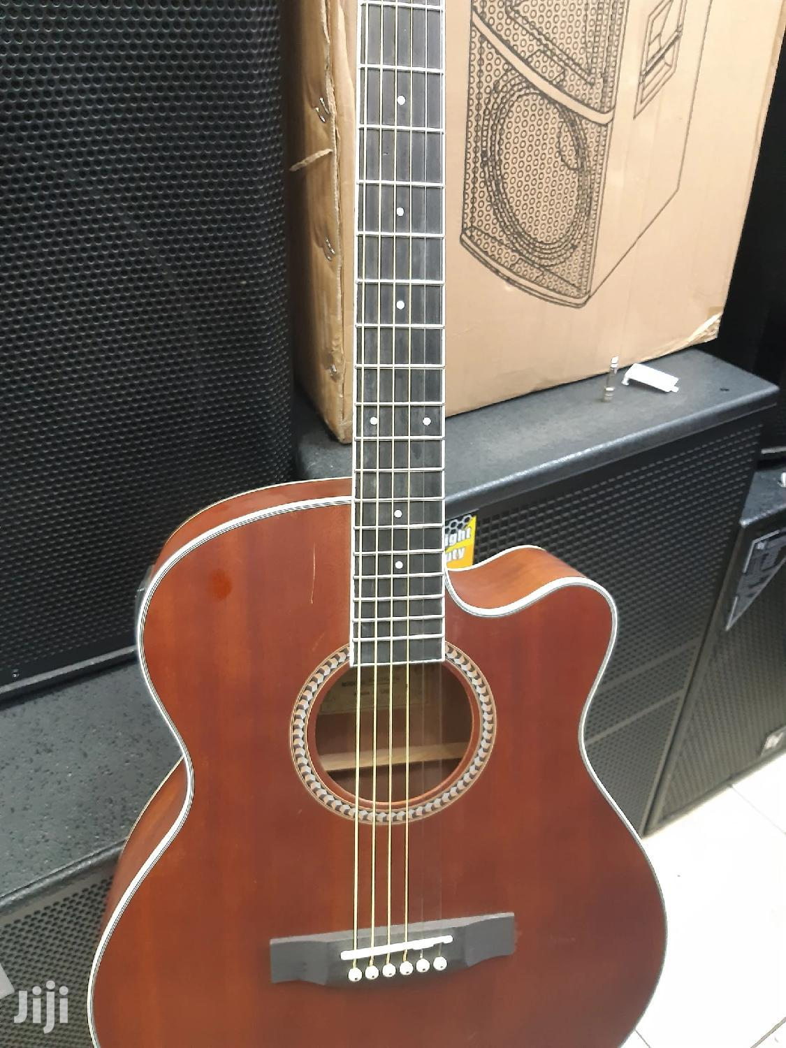 Semi Acoustic Guitar With A In Build Tuner | Musical Instruments & Gear for sale in Nairobi Central, Nairobi, Kenya