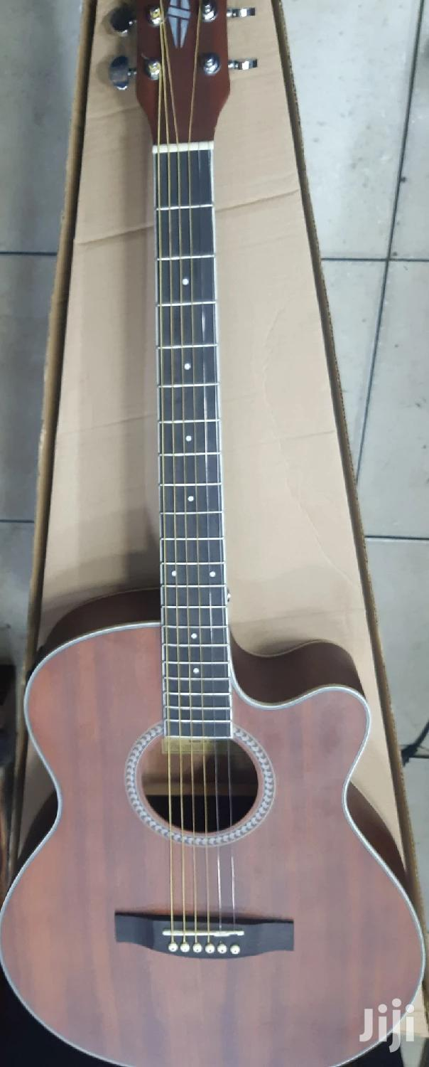 Semi Acoustic Guitar With A In Build Tuner