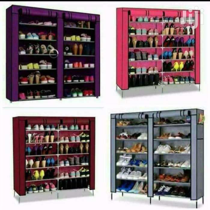 Get Quality Wooden Frame Portable Wardrobes And Shoe Racks | Furniture for sale in Kamulu/Joska (Kasarani), Nairobi, Kenya