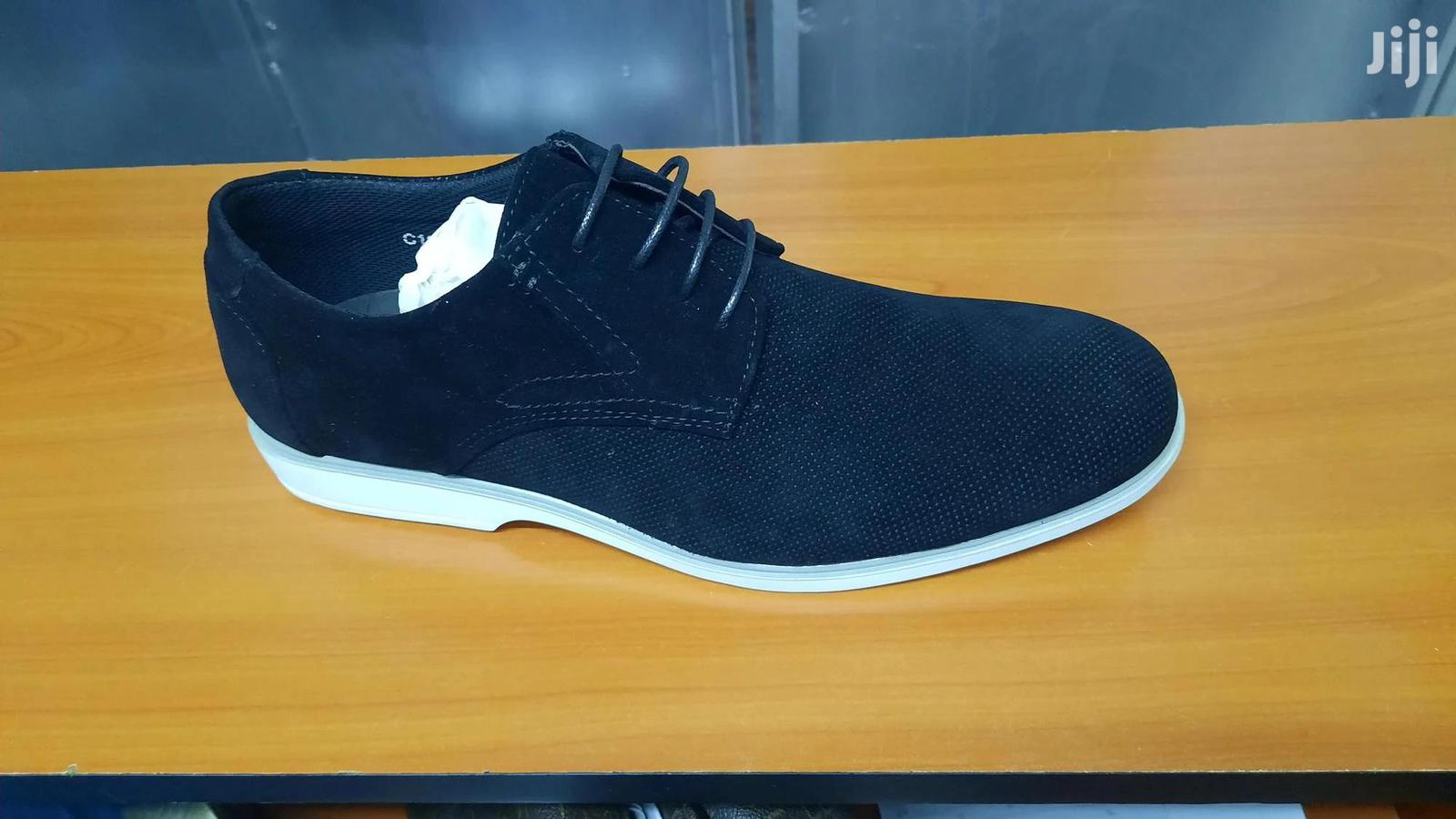 Italy Suede Leather Men Shoes Oxford Casual Classic Sneakers