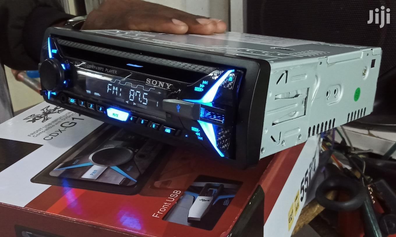 New Sony Car Radio With Usb, Aux, Fm Radio...