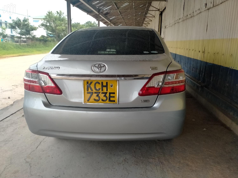 Toyota Premio 2010 Silver   Cars for sale in Tudor, Mombasa, Kenya