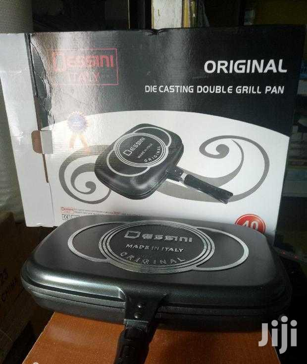 40cm Die Casting Dessini Double Grill Pan | Kitchen & Dining for sale in Nairobi Central, Nairobi, Kenya