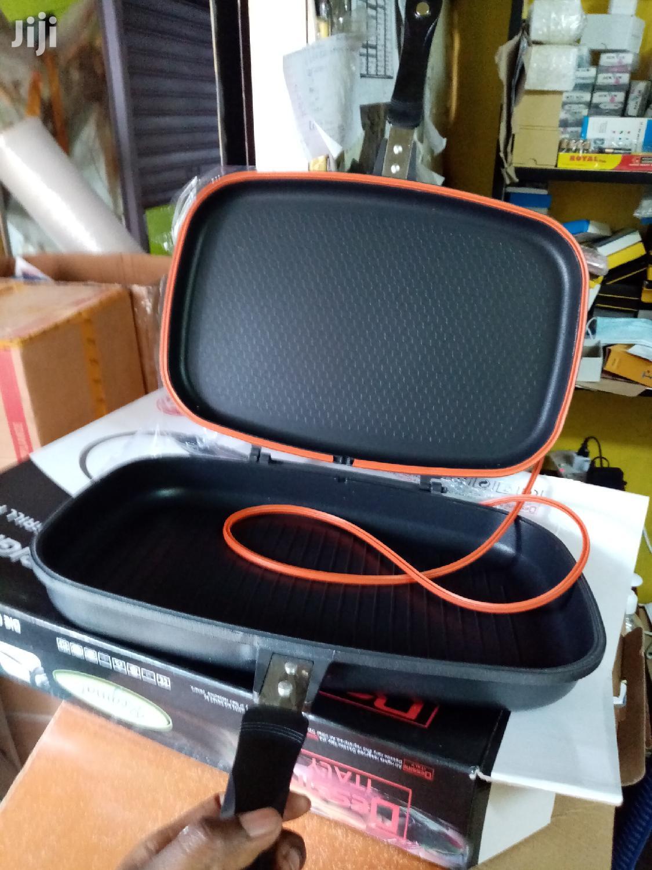 Non Sticky Dessini Double Grill Pan 40cm