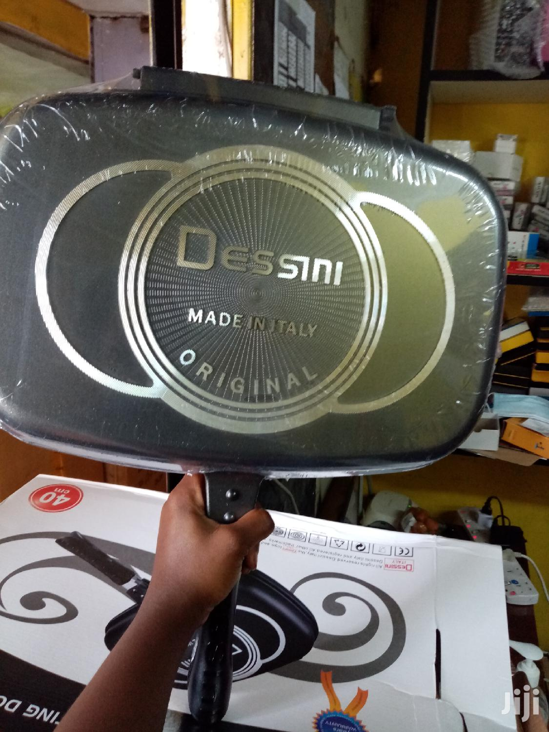 Non Sticky Dessini Double Grill Pan 40cm | Kitchen & Dining for sale in Nairobi Central, Nairobi, Kenya