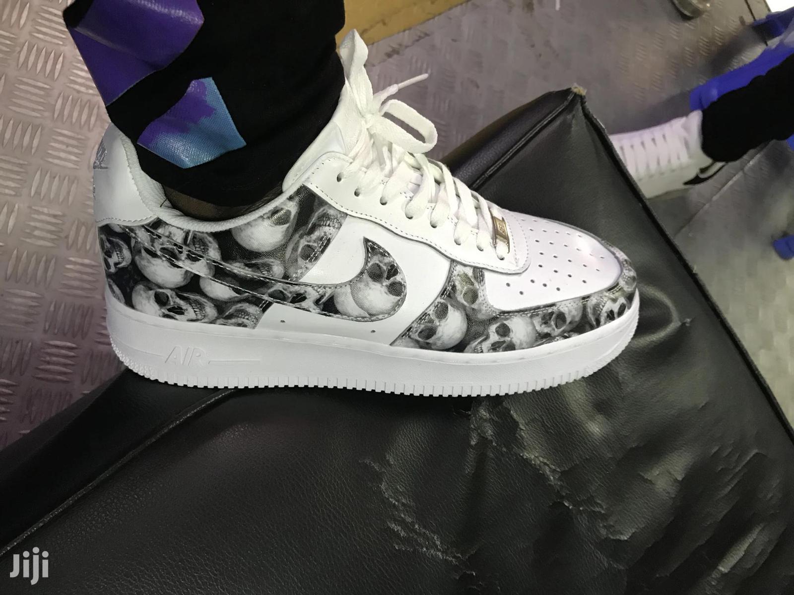 Skull Printed Airforce | Shoes for sale in Nairobi Central, Nairobi, Kenya