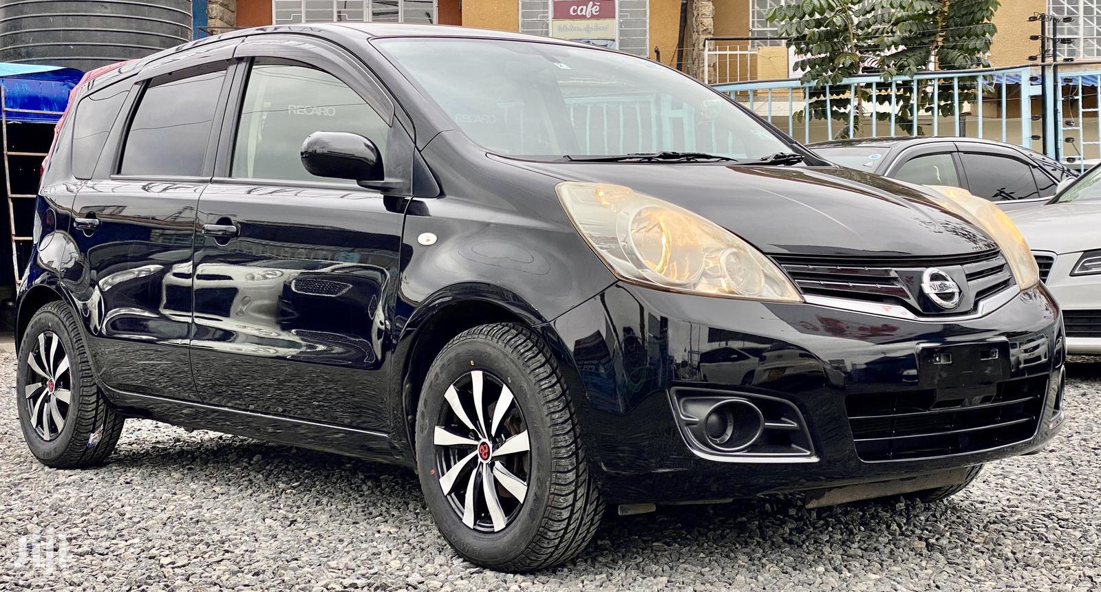 Nissan Note 2012 1.4 Black | Cars for sale in Kilimani, Nairobi, Kenya