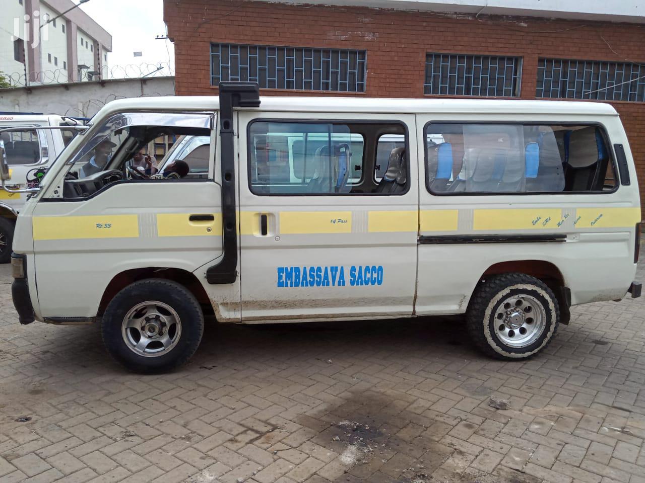 Archive: Nissan Urvan 2002 White