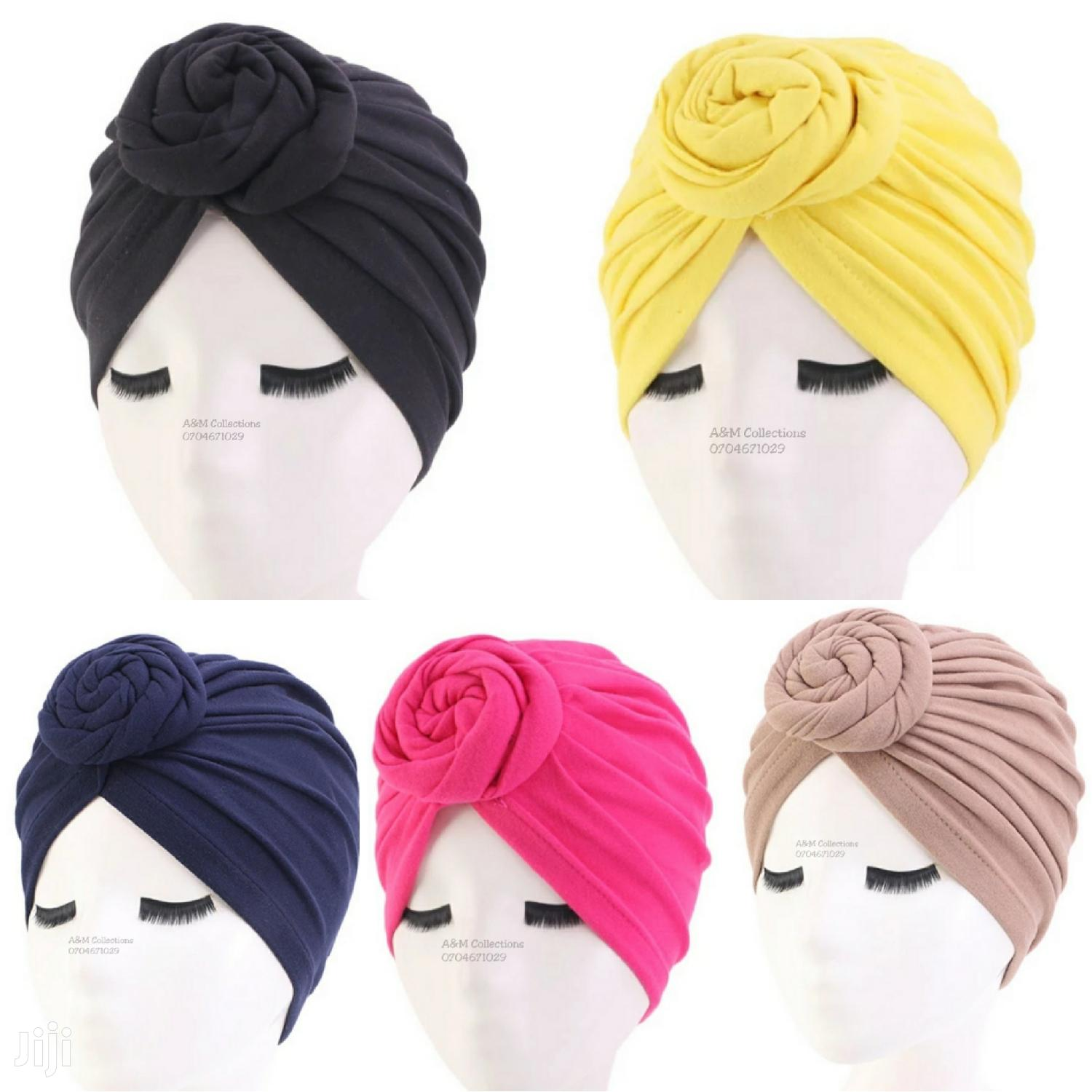 Pretied Cotton Turbans (Headgear/Hair Accessories)