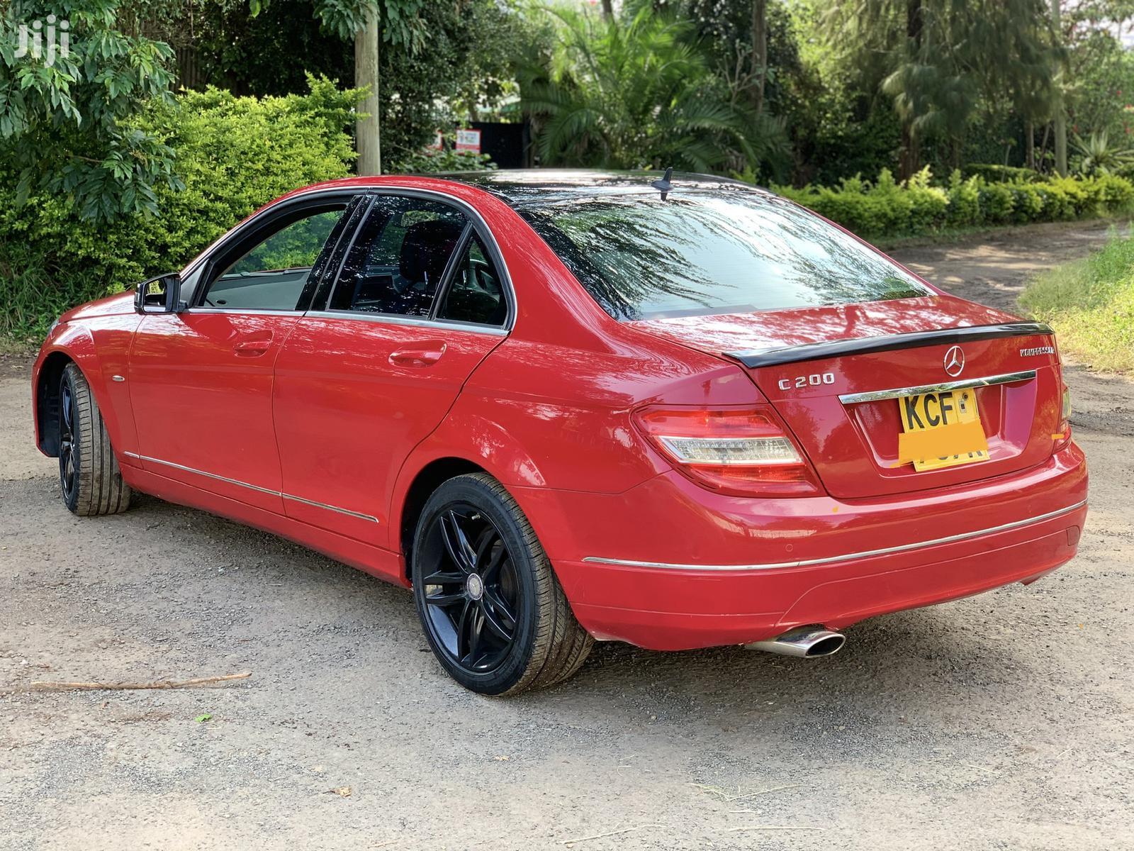 Mercedes-Benz C200 2008 Red | Cars for sale in Langata, Nairobi, Kenya