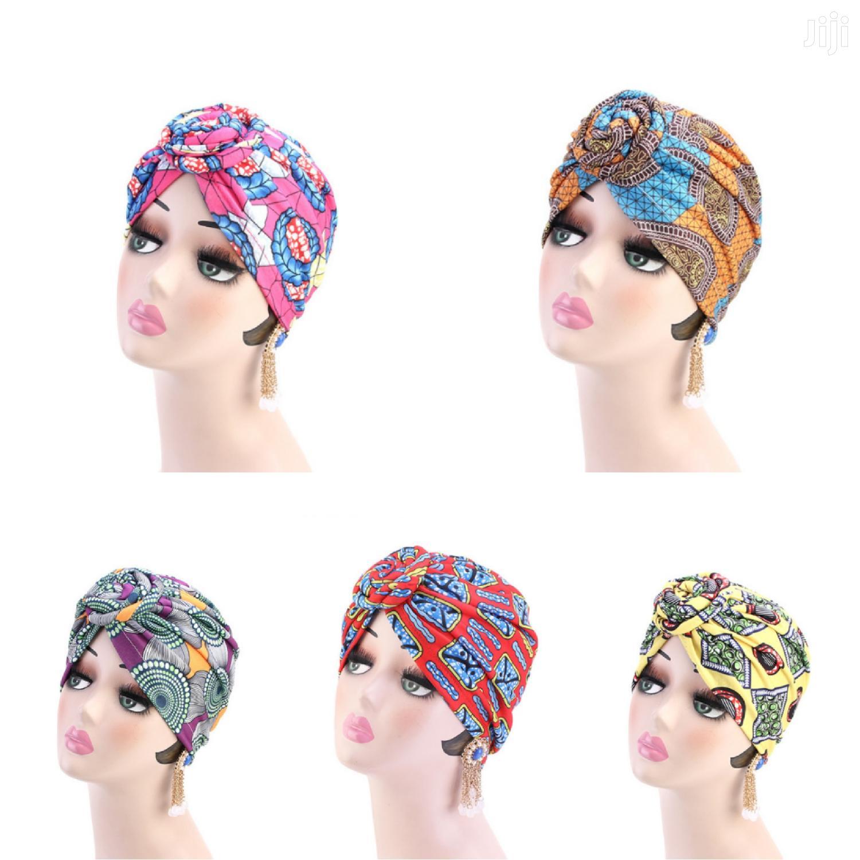 Pretied Cotton Turban (Headgear/Hair Accesory)