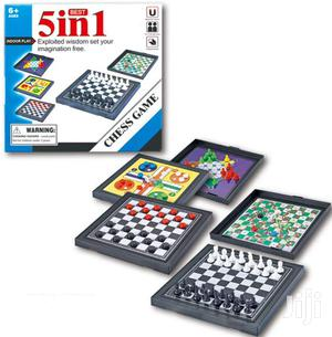 5 In 1 Chessmen Checkers Magnetic Board Game Flying Chess | Books & Games for sale in Nairobi, Nairobi Central