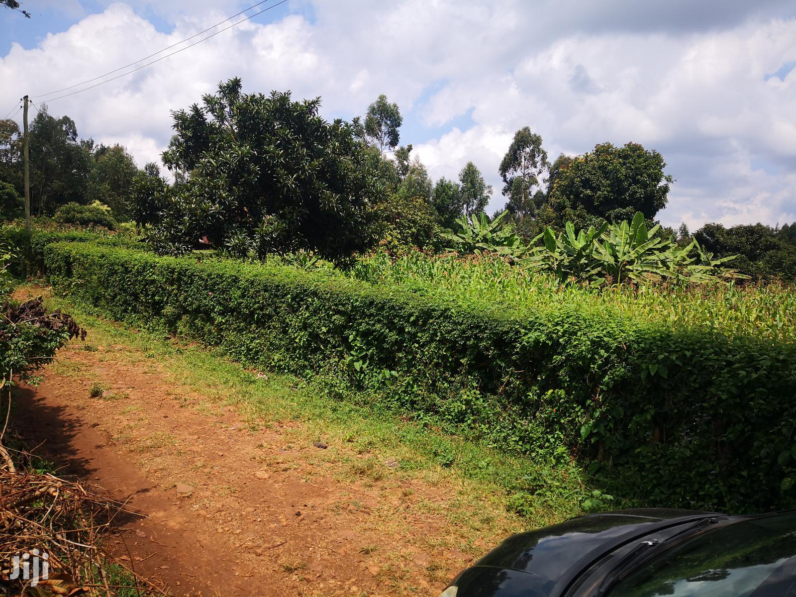 Archive: 1/2 An Acre Gikambura Kikuyu Kiambu For Sale.