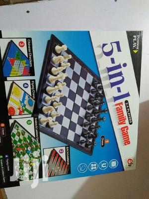 5 in 1(Chess, Snake Ladder, Ludo, Chinese Checkers, Backgammon)   Books & Games for sale in Nairobi, Nairobi Central